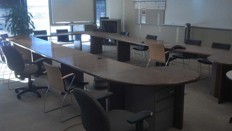 UsedFurniture - 15 foot conference table